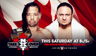 WWE NXT TakeOver:Toronto 2016比赛视频