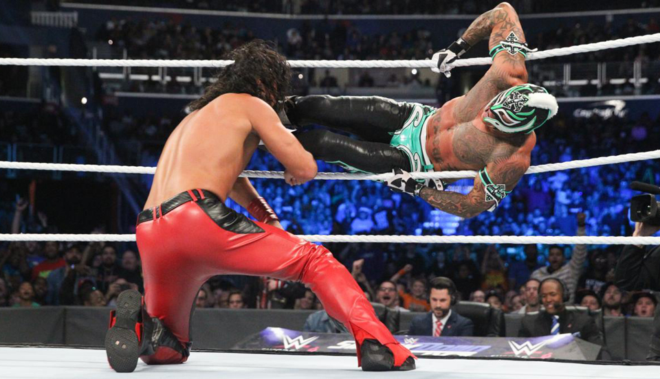 WWE SmackDown 2018年10月17日比赛视频